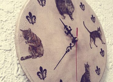 Декупаж на часовник - Център Фрейле
