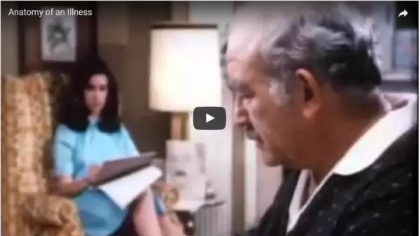 Анатомията на едно заболяване - филм за Норман Казънс